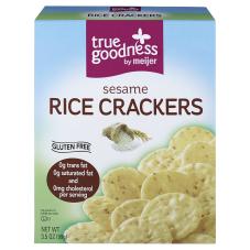 True Goodness Sesame Rice Crackers